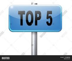 Top 5 Charts List Pop Image Photo Free Trial Bigstock