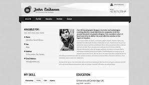 Professional Resume On Website
