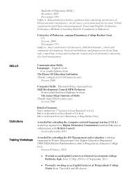 Psychology Resume Examples New Resume Examples Of Skills Psychology Resume Language Skills Section