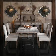 lighting beautiful furniture. gabby atlanta furniture showroom eclectic dining room vignette with unique find buffet antique style table and transitional side chairs lighting beautiful