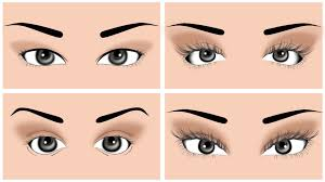 how to make the right makeup for round eyes