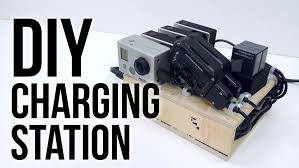 Make Charging Station Diy Charging Station Ft Bolse 7 Port Usb Charger Youtube