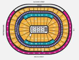 Flyers Seating Chart Specific Virtual Seating Chart Wells Fargo Nikon Jones Beach
