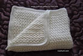 Free Crochet Patterns For Baby Blankets Best Design