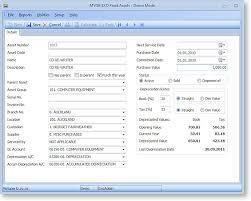 Fixed Asset Depreciation Calculator Depreciation Worked Example