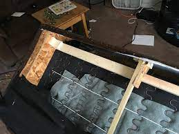 repair broken springs in a sofa explained
