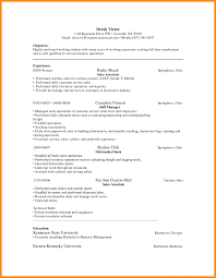 School Janitor Resume Examples Duties Objective Experience Samples