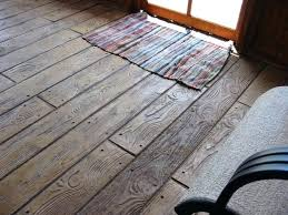 wood stamped concrete wood stamped concrete this could be cool for a floor by stamped concrete