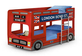 car bunk beds for boys. Exellent Bunk London Bus Bunk Bed  Childrens Novelty Kids Red Car And Beds For Boys G