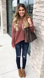Best 25+ Cute sweater outfits ideas on Pinterest | Cute outfits ...