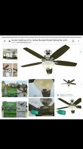 hunter s heathrow fan with light kit ships from jacksonville fl
