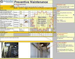 Daily Checklist Maker Maintenance Schedule Template Preventive Maintenance Checklist