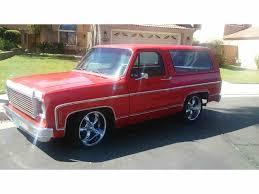 1978 Chevrolet Blazer for Sale | ClassicCars.com | CC-721683