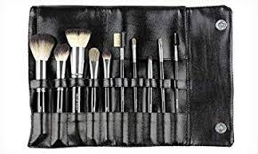 beaute basics 10 piece professional makeup brush set