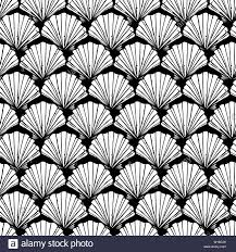 Designing Repeat Patterns For Textiles Vector Blue And White Seashells Repeat Pattern Suitable For