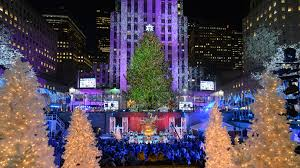 see photos of the rockefeller center tree lighting 2016