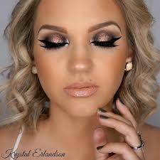 makeup geek eyeshadows in peach smoothie creme brulee americano and corrupt makeup
