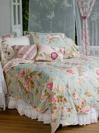 Victorian Rose Quilt - Sage | Bedding, Quilts & Duvets :Beautiful ... & Victorian Rose Quilt - Sage | Bedding, Quilts & Duvets :Beautiful Designs  by April Adamdwight.com