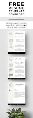 ideas about resume cover letter template on pinterest    free resume template   refresh your job search   this   resume  amp  cover…