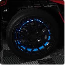 Wheel Light Kit Tricled Standard Rgb Led Wheel Light Kit With Brake Turn Signal Integration For The Polaris Slingshot Set Of 3
