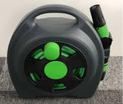 manufacturer lower high quality guarantee 10m plastic garden water hose reel