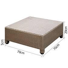 gardeon 6pc sofa outdoor furniture set wicker rattan lounge setting beige pool now