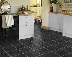 karndean t88 onyx knight tile vinyl flooring is the darkest slate inspired design by karndean