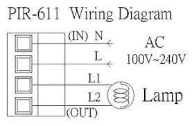 pir 611 ultra thin sensor hip kwan embedded sensor Wiring Diagram For Pir Sensor wiring diagram embeded sensor wiring diagram for pir sensor