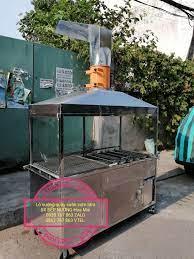Lò nướng than ngoài trời - Bếp nướng Hoa Mai