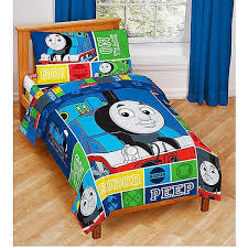 thomas the train bedding thomas friends 4pc toddler bedding set at toystop
