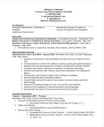 Principal Resume Template Best Of Principal Resume Template 24 Free Word PDF Document Downloads