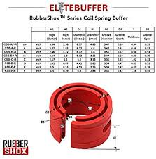 Spring Buffer Size Chart Elitebuffer Front Rear Automobile Coil Spring Buffer Booster Performance Upgrade