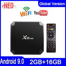Best android tv box x96 mini iptv box Amlogic S905W 2G 16G x96mini smart ip tv  Android 9.0 Europe set top box|Set-top Boxes