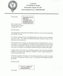 Business Letter Format Without Letterhead How To Format Cover Letter