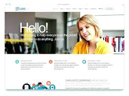Free Web Templates For Employee Management System Website Template Design Theme Education Learning Management