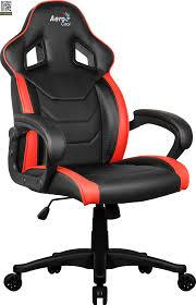 Геймерское <b>кресло Aerocool AC60C</b> AIR (Черный / красный ...