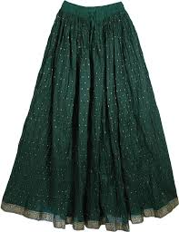 Long Skirt Patterns Beauteous Green Pattern Ethnic Long Skirt Clothing Sale On Bags Skirts