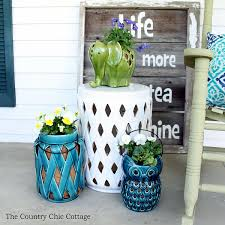 ideas on using lanterns for planters around your home great for your outdoor patios and