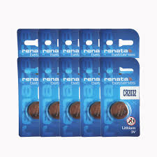 <b>20pcs</b>/<b>lot</b> Swiss 2032 Renata Button CR2032 Watches <b>3V</b> Remote ...