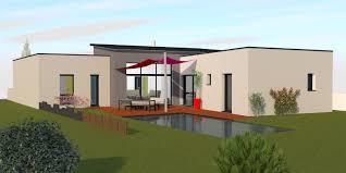 Plan De Maison 4 Chambres Plain Pied 8 Maison Contemporaine