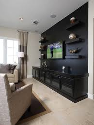 Living Room Design With Tv Set