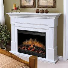 es white electric fireplace
