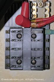 boat building standards basic electricity wiring your boat a battery switch fuse block