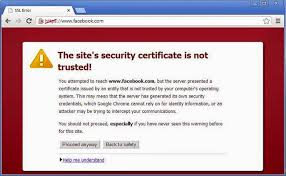 Fake Digital Certificates Found In The Wild While Observing Facebook