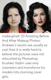 s makeup and photo makeuphall 20 amazing before and after makeup photos