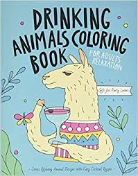 Drinking Animals Coloring Book: A Fun Coloring Gift ... - Amazon.com
