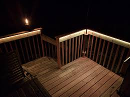 inexpensive deck upgrade with led lighting