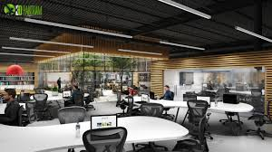 large office space. How To Design Large Office Space, Walkthrough Animation By Yantram Architectural Studio Space F