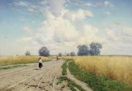 Образы дорог и путей в живописи полотна К Я Крыжицкого