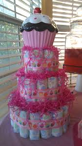 Cupcake Themed Baby Shower Decorations